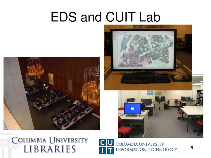 EDS and CUIT Lab