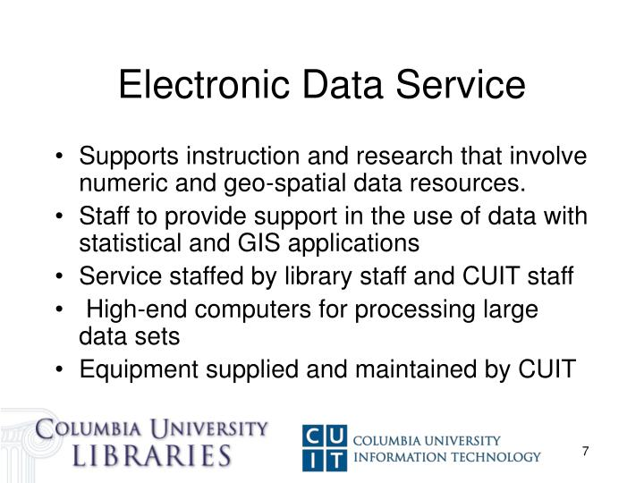 Electronic Data Service