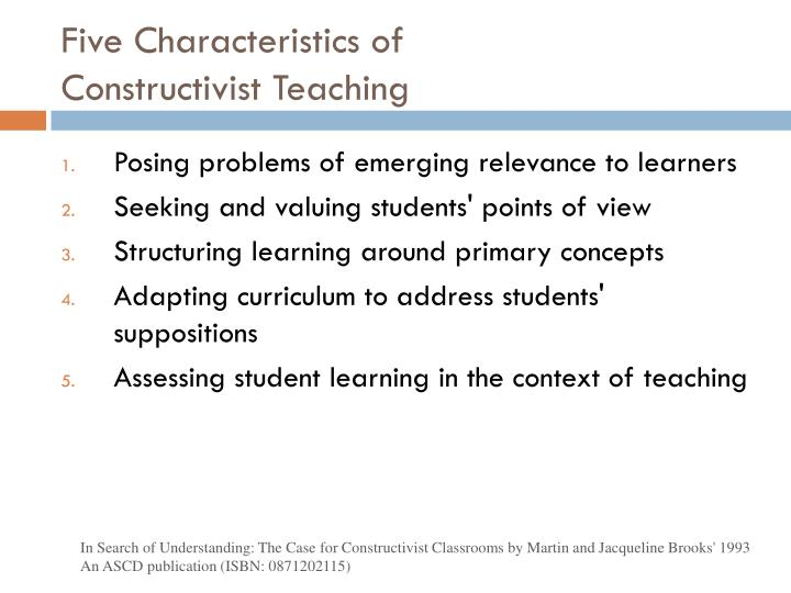 Five Characteristics of