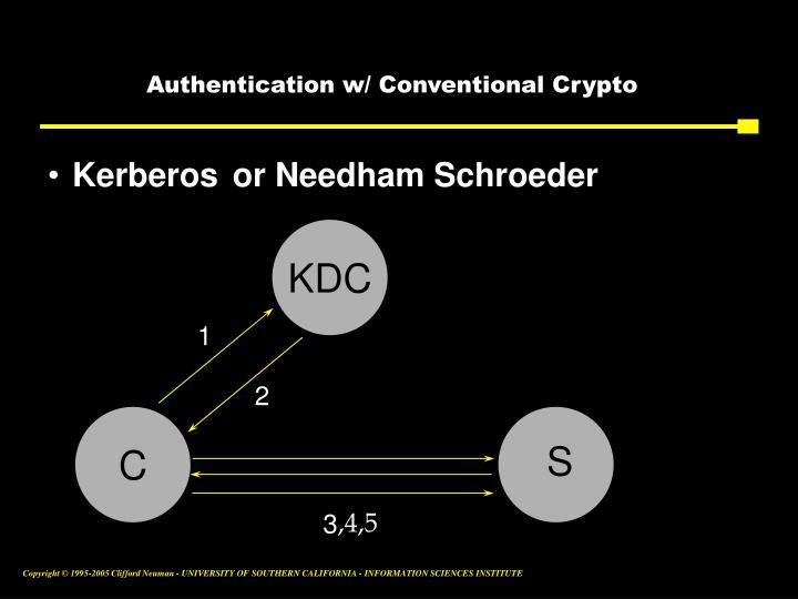 or Needham Schroeder
