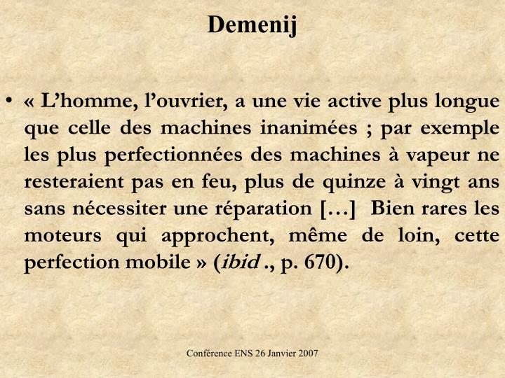 Demenij