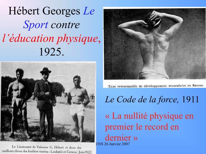 Hébert Georges