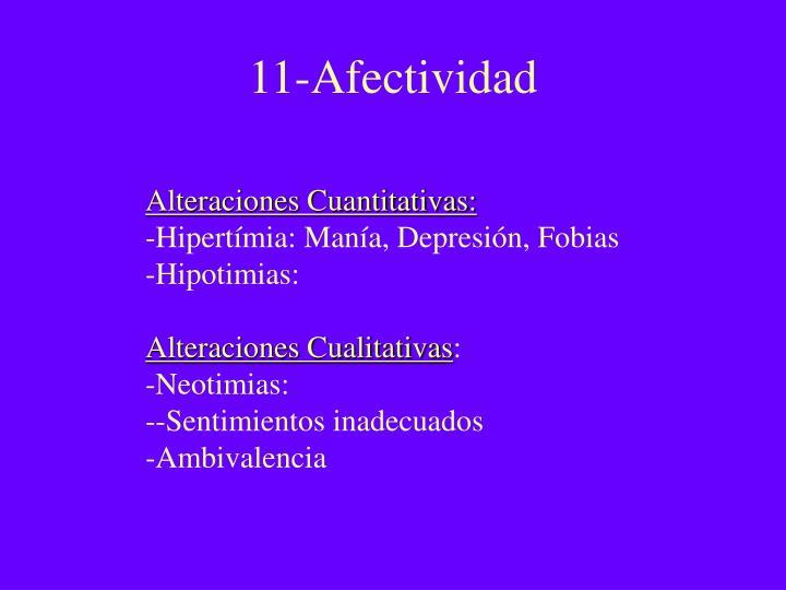 11-Afectividad