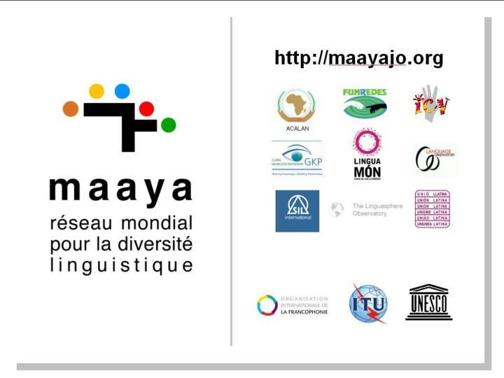 Colloque Vox Internet II  - Paris, 26-27 mars 2010