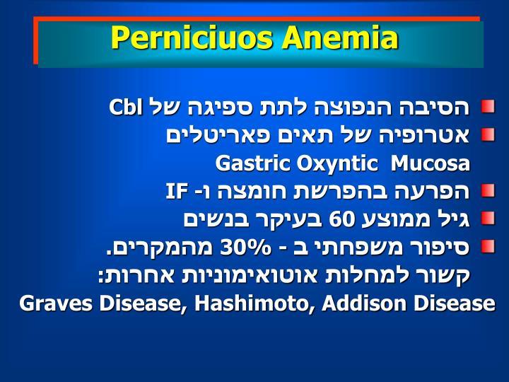 Perniciuos Anemia
