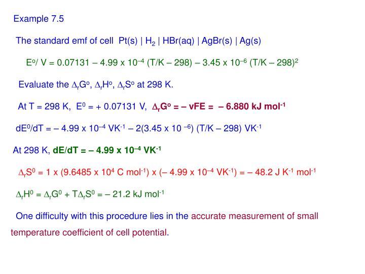 Example 7.5