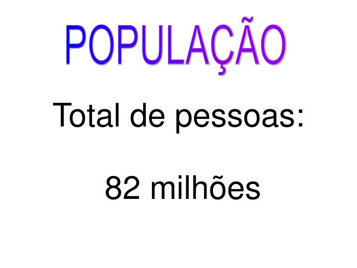 Total de pessoas: