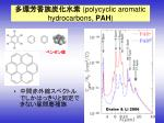 polycyclic aromatic hydrocarbons pah