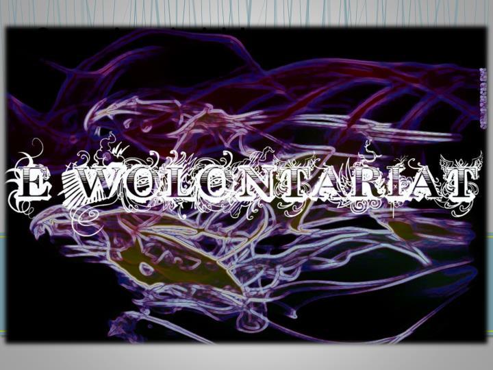 E-WOLONTARIATU