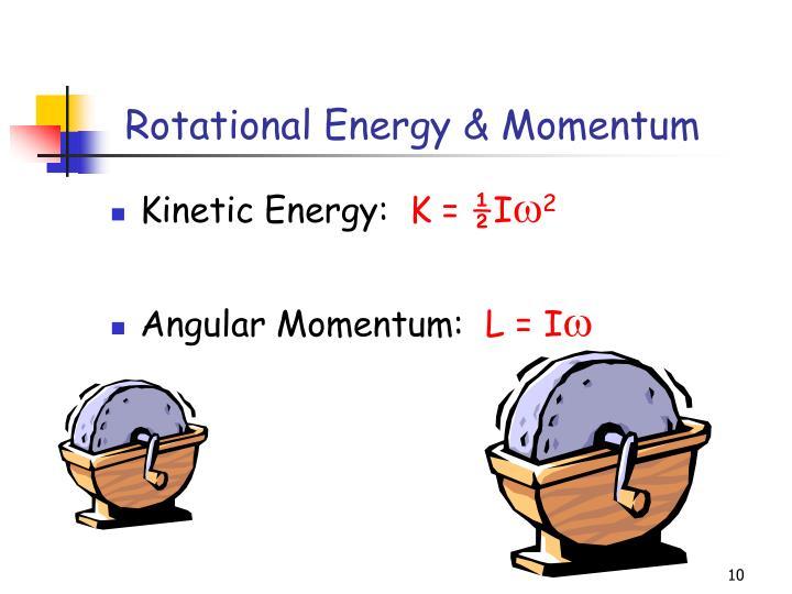 Rotational Energy & Momentum
