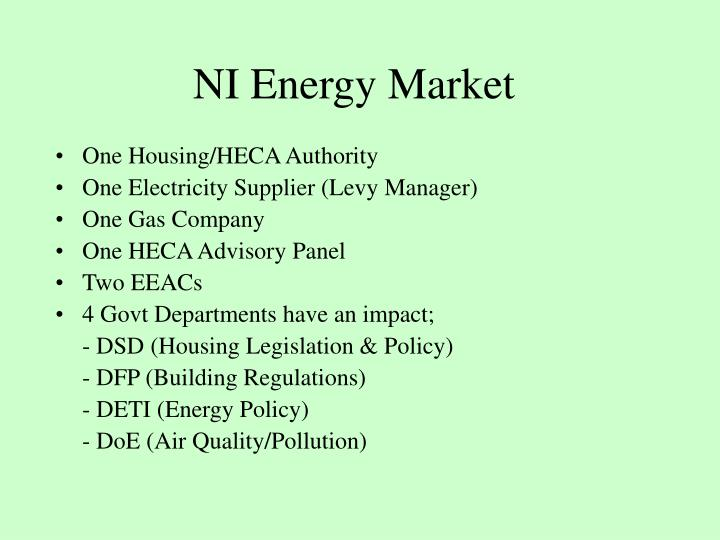 NI Energy Market