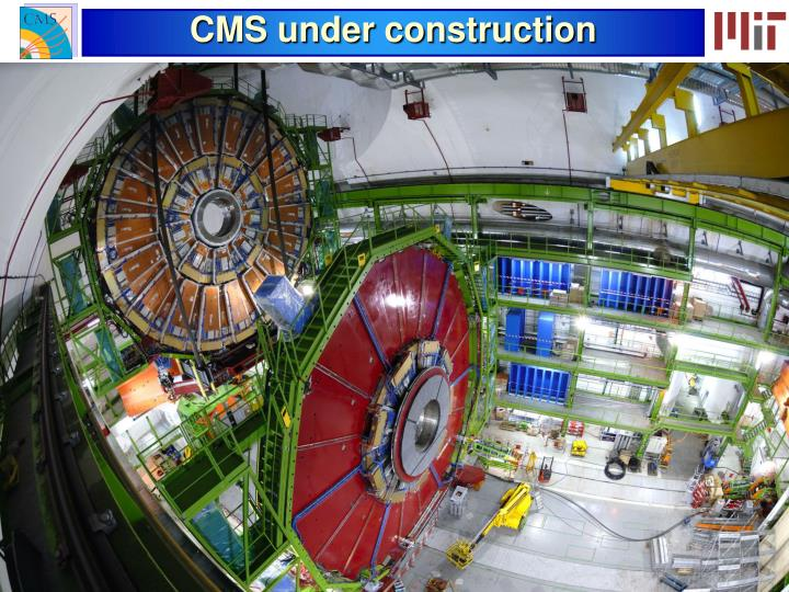 CMS under construction