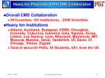 heavy ion physicists within cms collaboration
