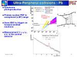 ultra peripheral collisions g pb