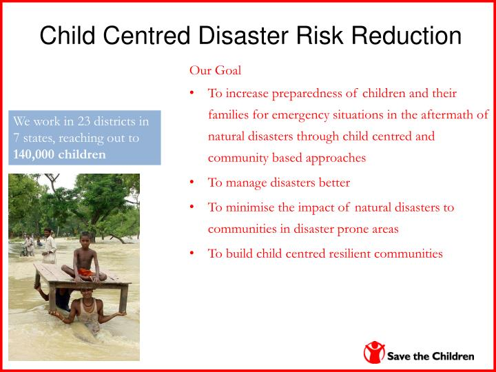 Child Centred Disaster Risk Reduction