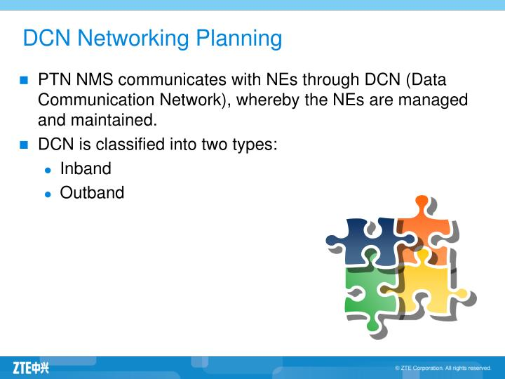 DCN Networking Planning