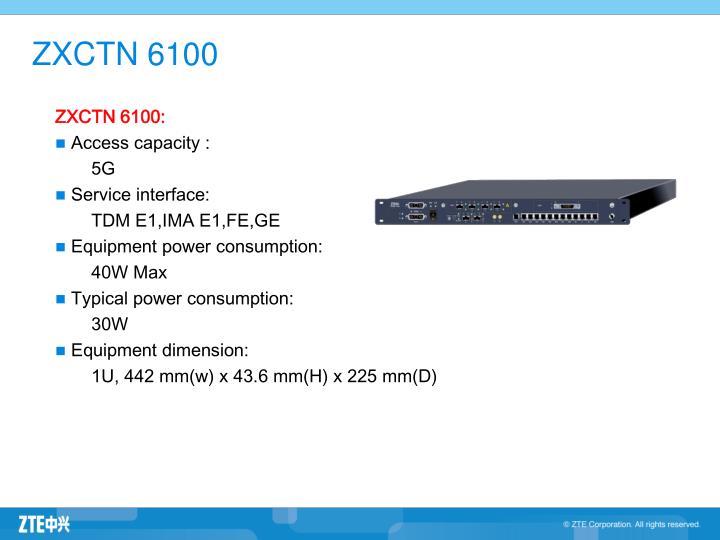 ZXCTN 6100