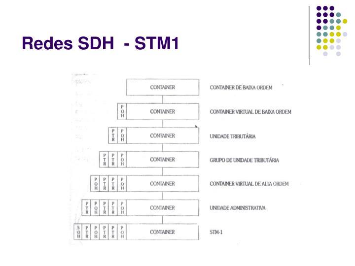 Redes SDH  - STM1