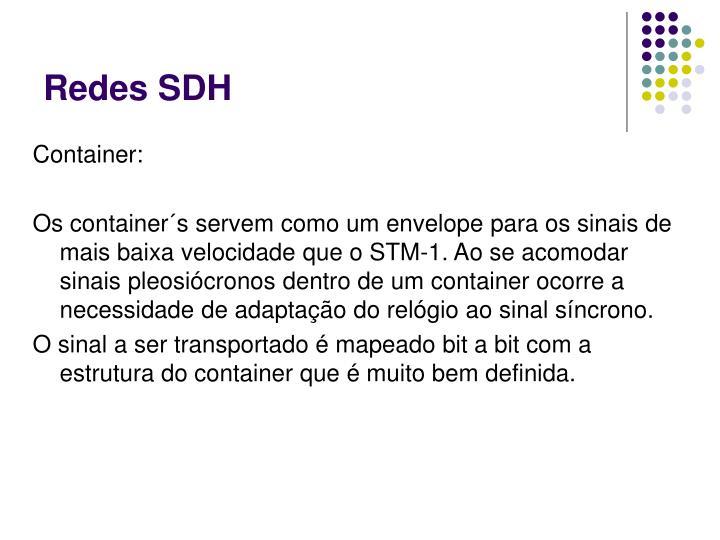 Redes SDH