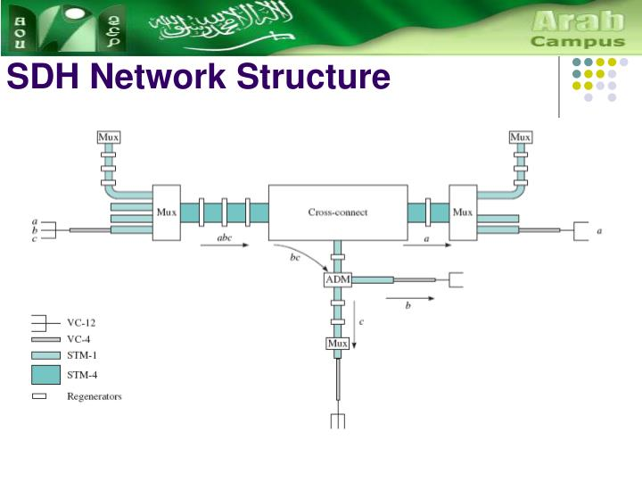 Sdh network structure