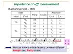 importance of a nm measurement