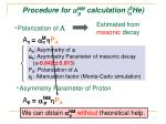 procedure for a nm calculation 5 he