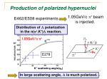 production of polarized hypernuclei