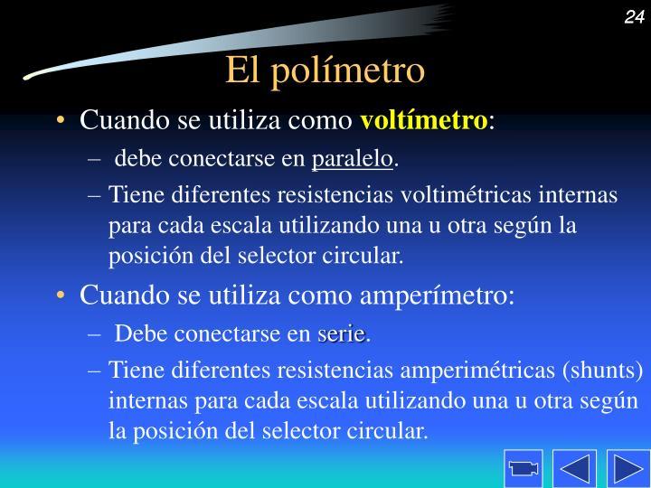 El polímetro