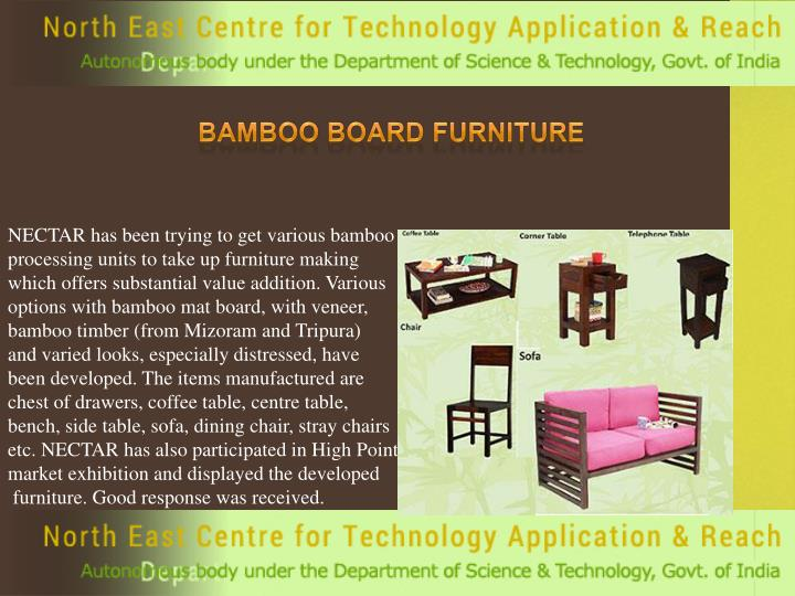Bamboo Board Furniture