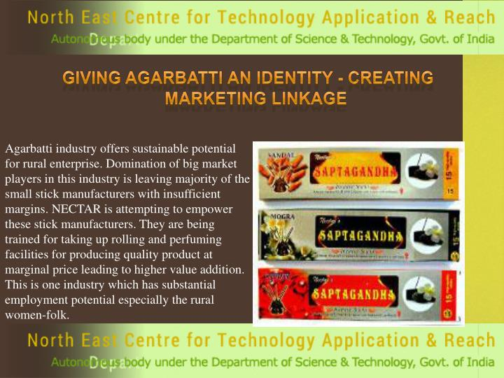 Giving Agarbatti an Identity - Creating