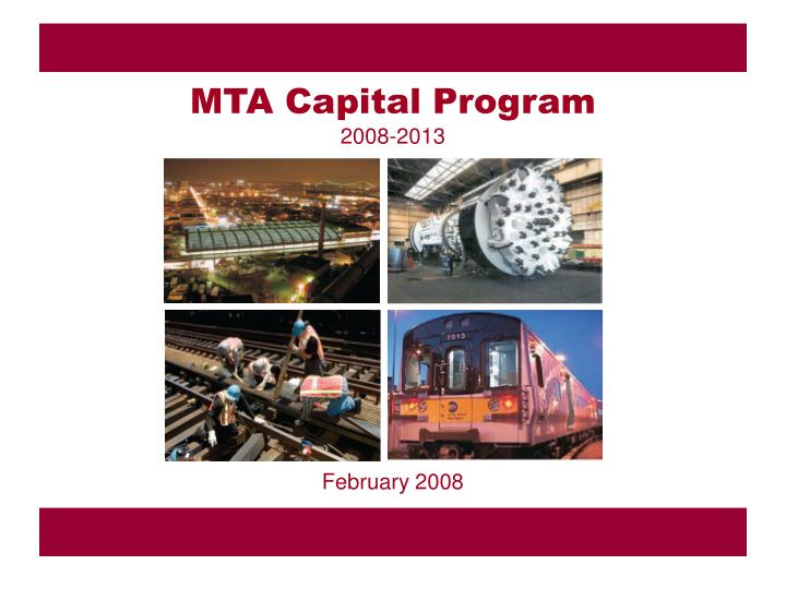 MTA Capital Program