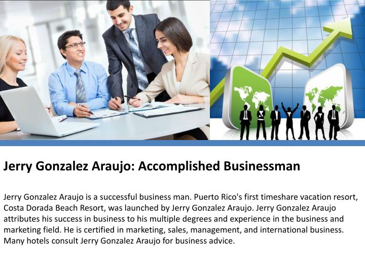 Jerry Gonzalez Araujo: Accomplished Businessman