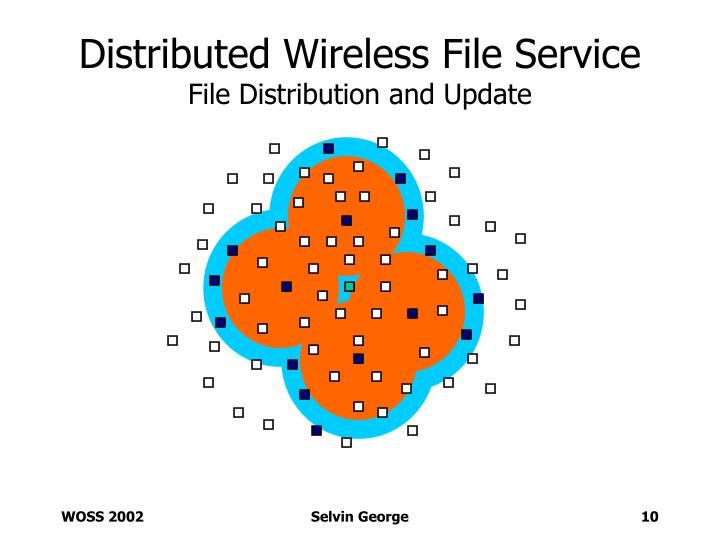 Distributed Wireless File Service