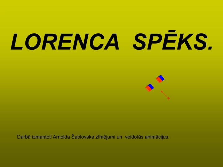 Lorenca sp ks