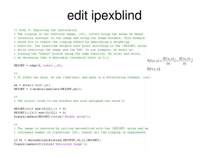 edit ipexblind