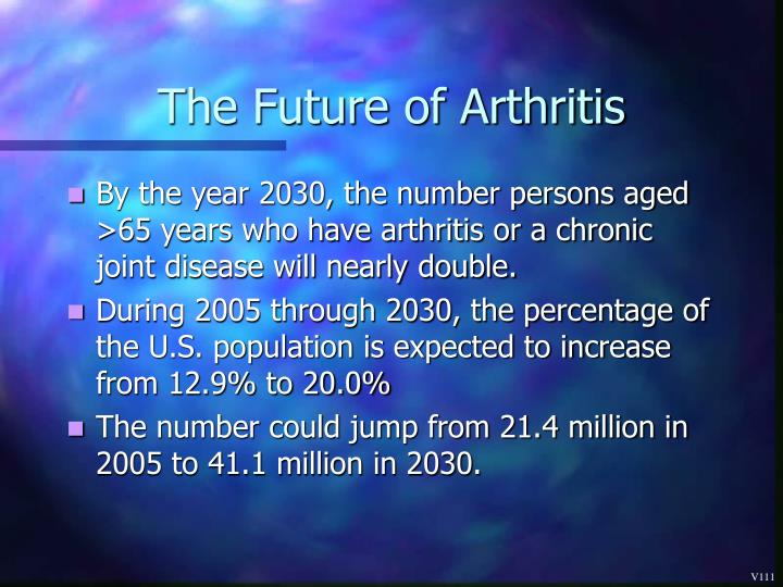 The Future of Arthritis