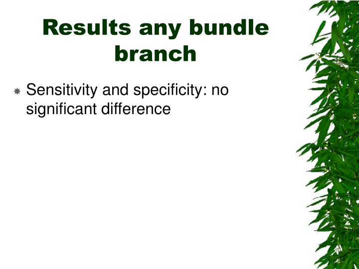 Results any bundle branch