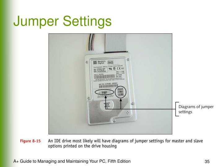 Jumper Settings