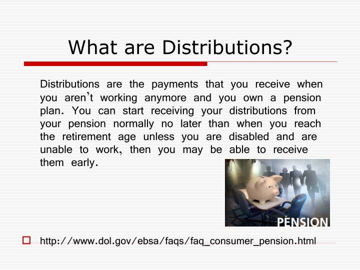 What are Distributions?