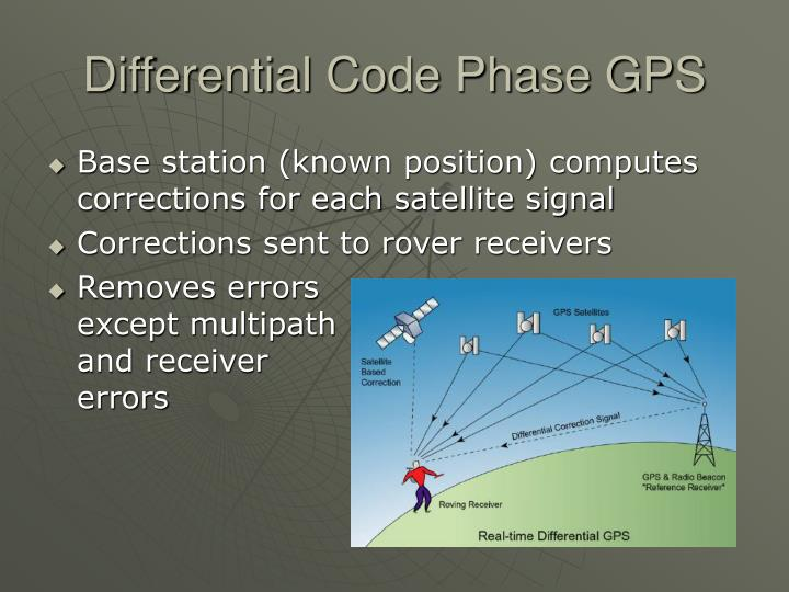 Differential Code Phase GPS
