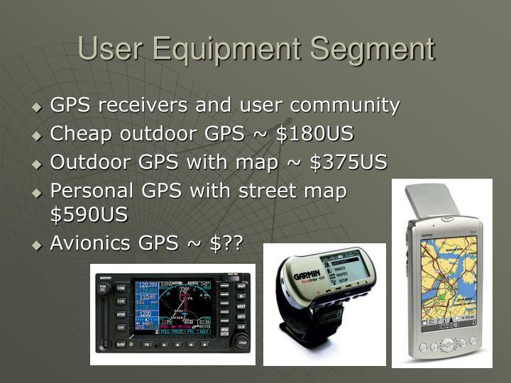 User Equipment Segment