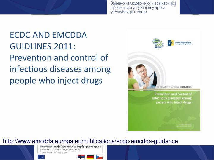 ECDC AND EMCDDA