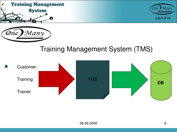 Training Management System (TMS)