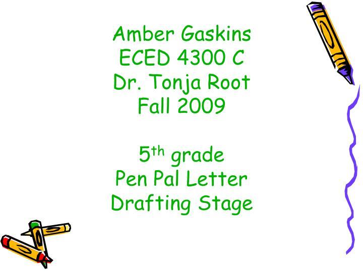 Amber Gaskins