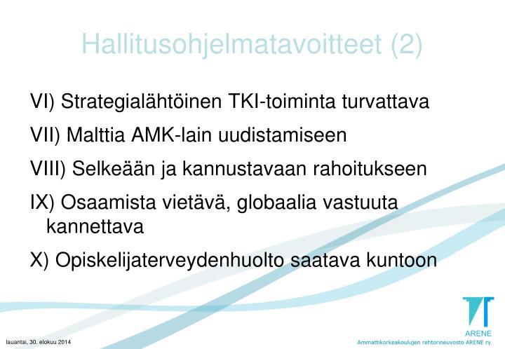 Hallitusohjelmatavoitteet (2)