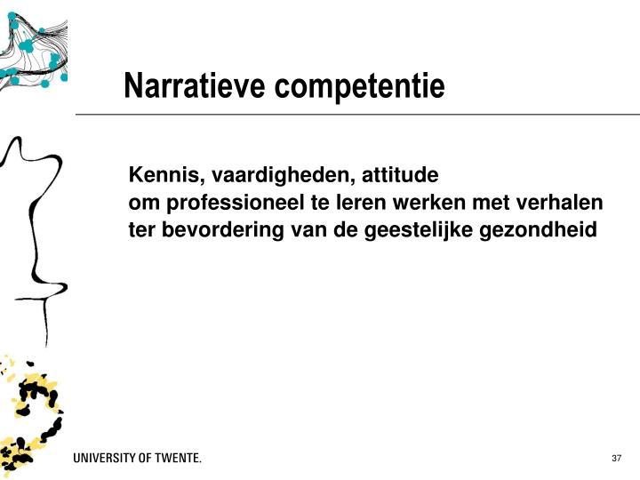 Narratieve competentie
