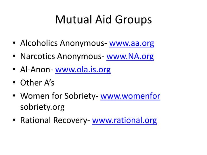 Mutual Aid Groups