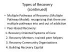 types of recovery continued5