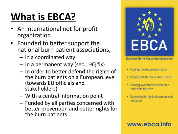 What is EBCA?
