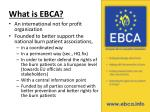 what is ebca